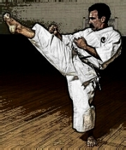 Edmond Otis, my Shotokan Sensei (quite a long time ago).